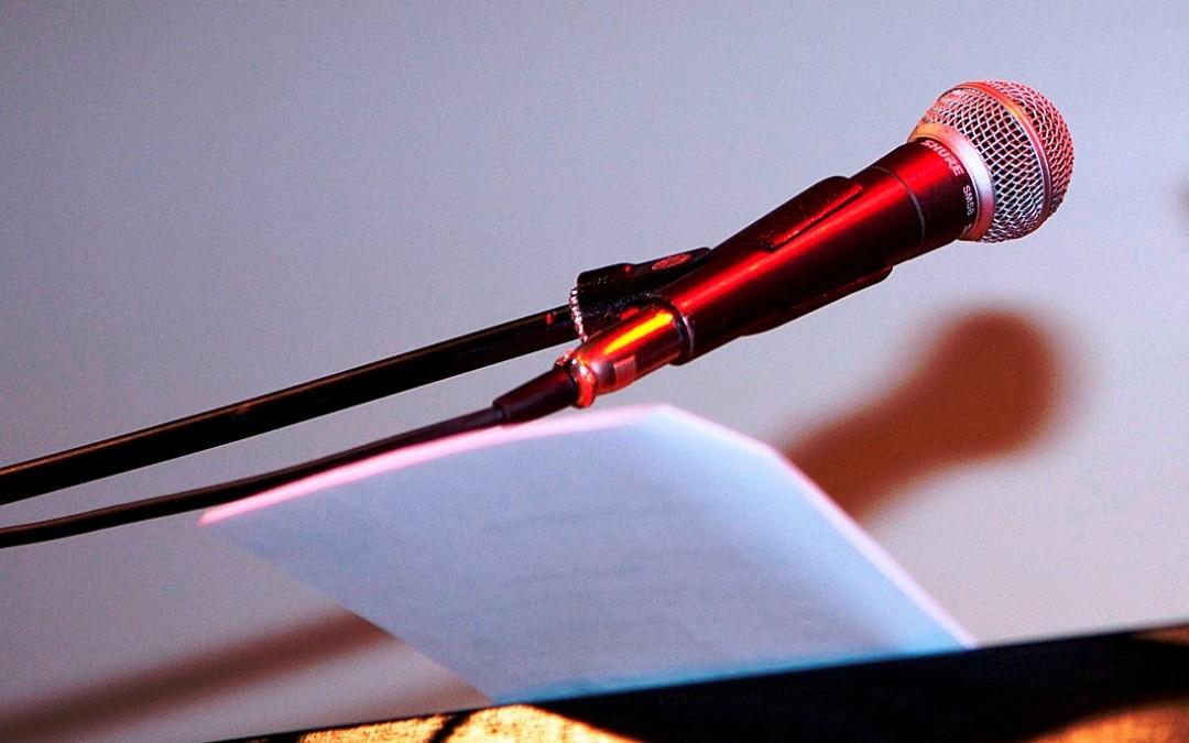 Lampenfieber: Rednerinnen werden nicht geboren, Rednerinnen werden gemacht (Teil 2)
