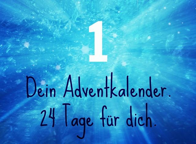 In 24 Tage sich selbst eine bessere Freundin werden. Dein Adventkalender.